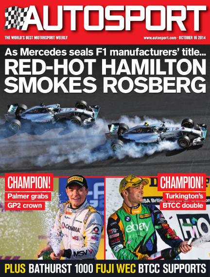 Autosport October 16, 2014 00:00