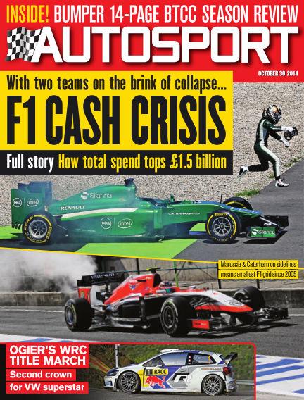 Autosport October 30, 2014 00:00
