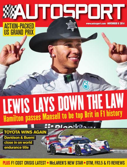 Autosport November 06, 2014 00:00