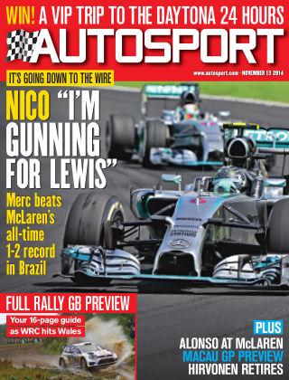 Autosport 13th November 2014