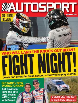 Autosport 20th November 2014