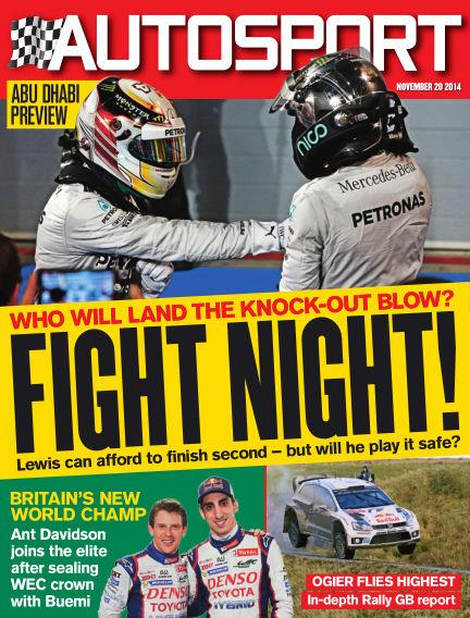 Autosport November 20, 2014 00:00
