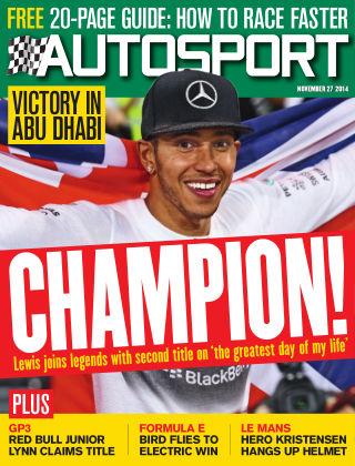 Autosport 27th November 2014