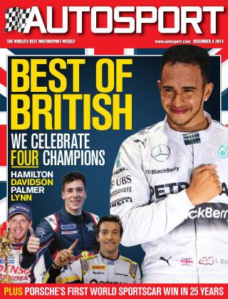 Autosport 4th December 2014