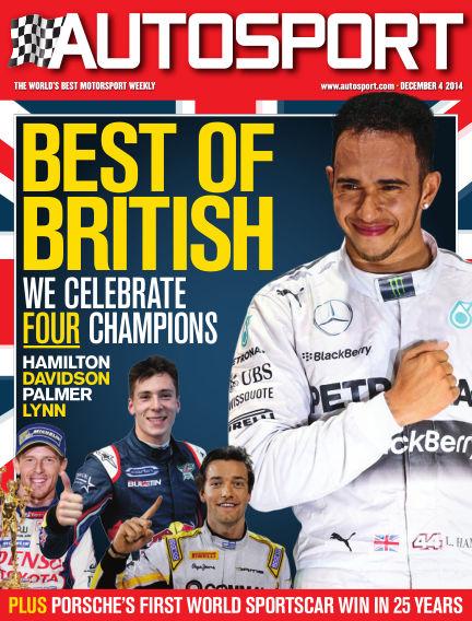 Autosport December 04, 2014 00:00
