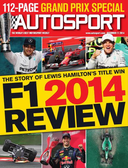 Autosport December 11, 2014 00:00