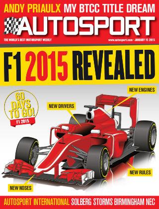Autosport 15th January 2015