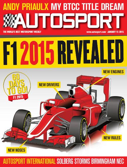Autosport January 15, 2015 00:00