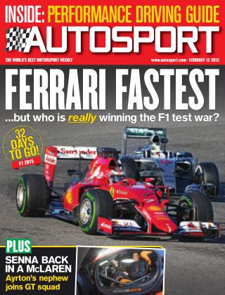 Autosport 12th February 2015