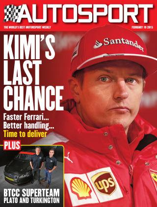 Autosport 19th February 2015