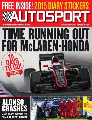 Autosport 26th February 2015