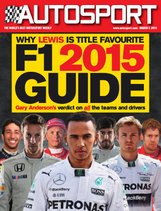 Autosport 5th March 2015