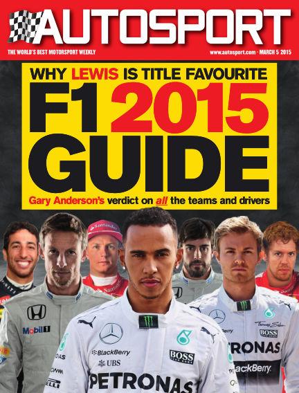 Autosport March 05, 2015 00:00