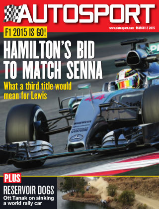 Autosport 12th March 2015