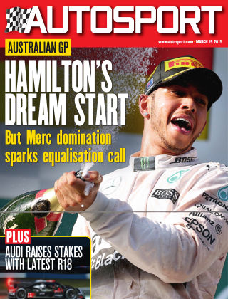 Autosport 19th March 2015