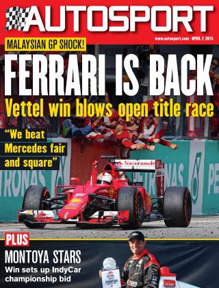 Autosport 2nd April 2015