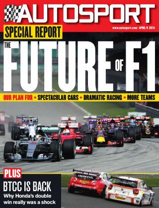 Autosport 9th April 2015