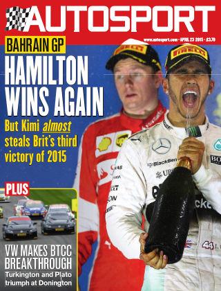 Autosport 23rd April 2015