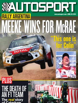 Autosport 30th April 2015