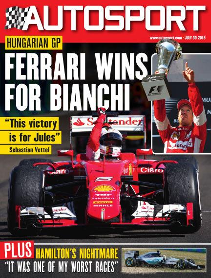 Autosport July 30, 2015 00:00