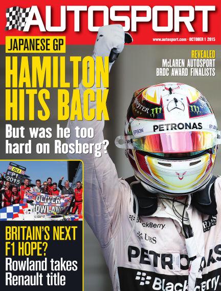 Autosport October 01, 2015 00:00