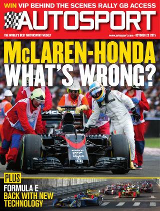 Autosport 22nd October 2015