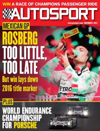 Autosport 5th November 2015
