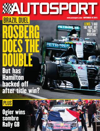 Autosport 19th November 2015