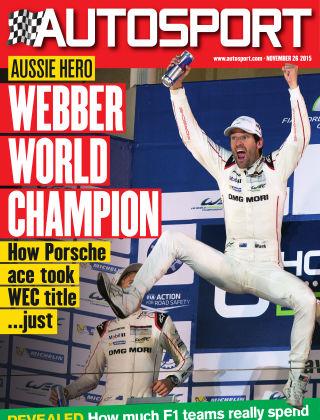 Autosport 26th November 2015