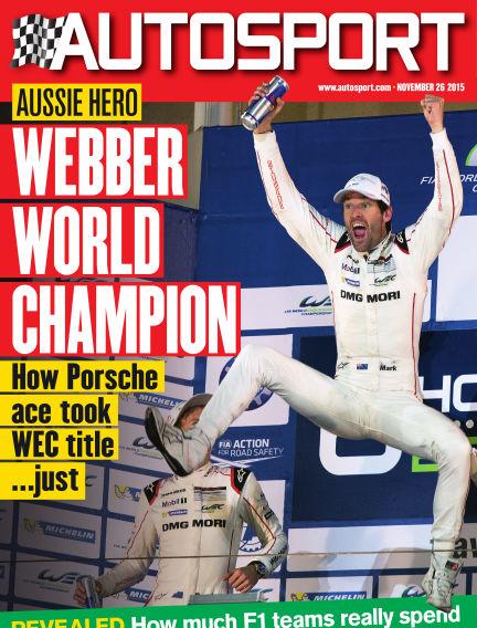 Autosport November 26, 2015 00:00