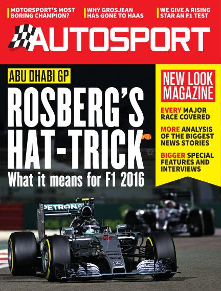 Autosport December 03, 2015 00:00