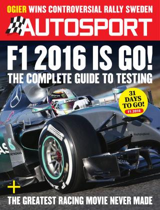 Autosport 18th February 2016