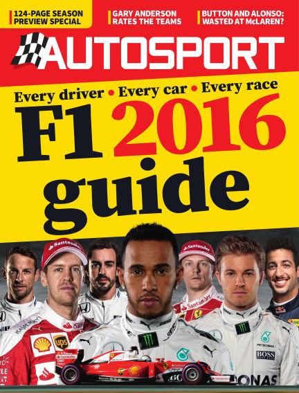 Autosport March 10, 2016 00:00