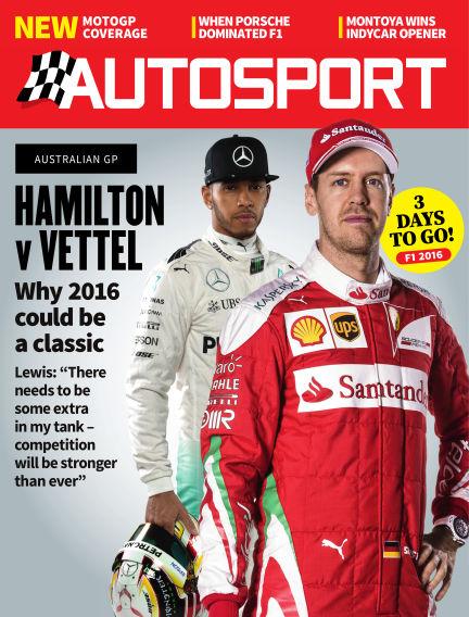 Autosport March 17, 2016 00:00