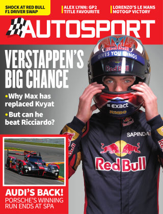 Autosport 12th May 2016