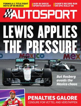 Autosport 3rd November 2016