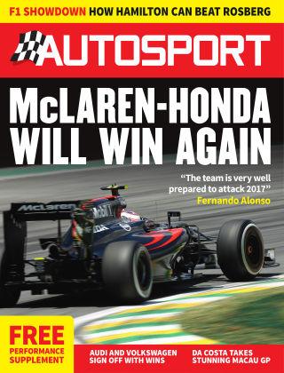 Autosport 24th November 2016