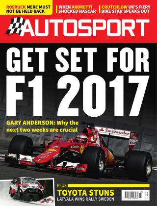 Autosport 16th February 2017