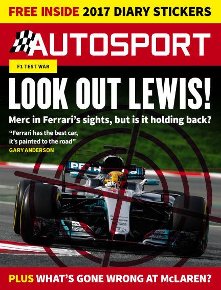 Autosport March 09, 2017 00:00