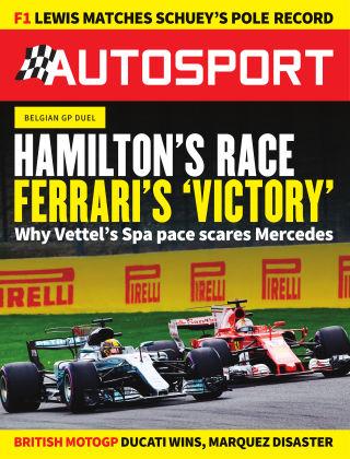 Autosport 31st August 2017
