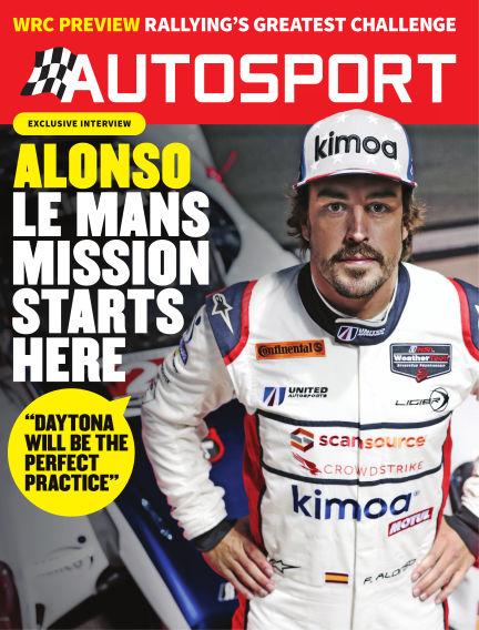 Autosport January 25, 2018 00:00