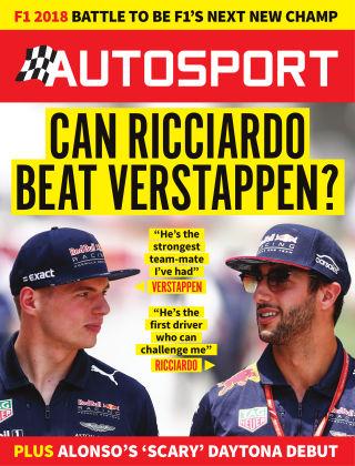 Autosport 1st February 2018