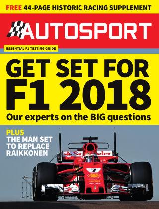 Autosport 15th February 2018