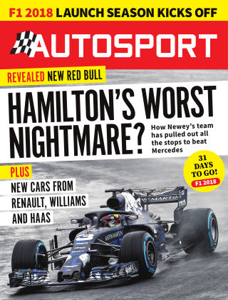 Autosport 22nd February 2018