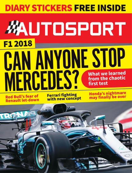 Autosport March 08, 2018 00:00