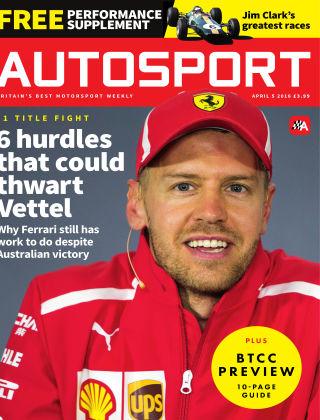 Autosport 5th April 2018