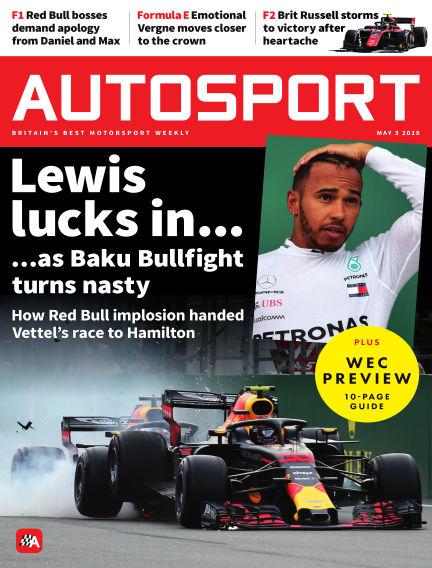 Autosport May 03, 2018 00:00