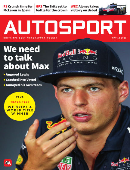 Autosport May 10, 2018 00:00