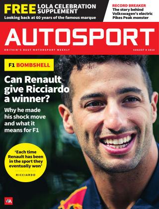 Autosport 9th August 2018
