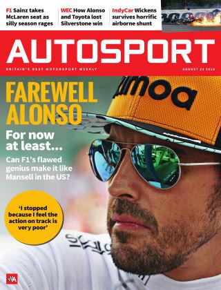 Autosport 23rd August 2018